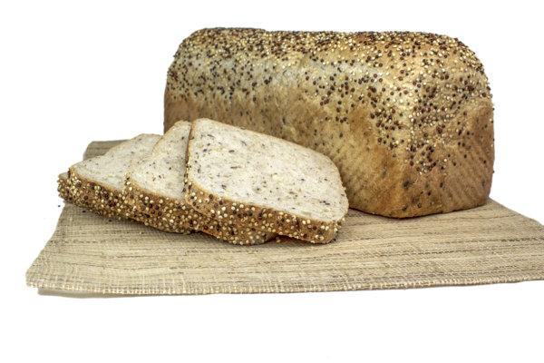 Pan de Molde con Semillas y Copos
